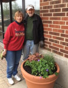 arts in bartlett planter after