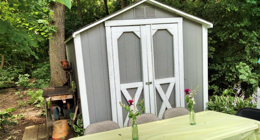 Julia garden shed